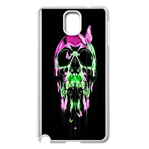 Sugar Skull Productive Back Phone Case For Samsung Galaxy NOTE4 Case Cover -Pattern-14