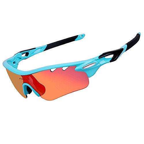 PLAYBOOK Road Mountain Cycling Glasses Goggles Eyewear Polarized Cycling Bicycle Sunglasses Oculos Gafas Ciclismo 3 Lens - For Glasses Biking Mountain