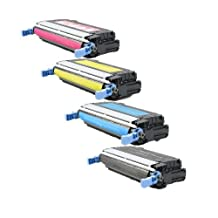 HD TONER Compatible Toner Cartridge Replacement for HP 4600 ( 4-Pack )