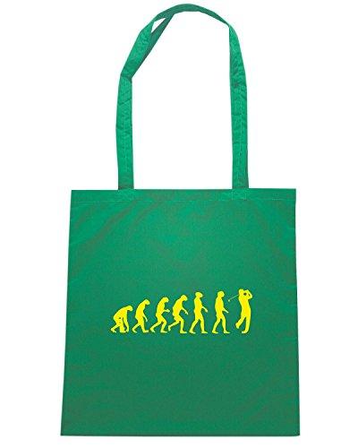 T-Shirtshock - Bolsa para la compra OLDENG00833 golf evolution Verde