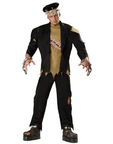 InCharacter Costumes Men's Monster Costume, Black, Large -