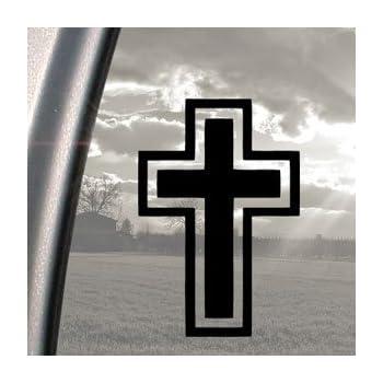 Amazon.com: CrossTread Christian CROSS Vinyl STICKER/DECAL