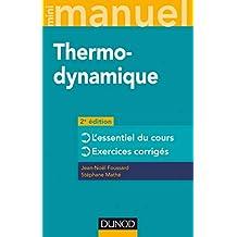 Mini Manuel de Thermodynamique: Rappels de Cours 2e Éd.