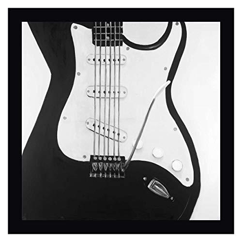 Black Electric Guitar by Atelier B Art Studio - 39