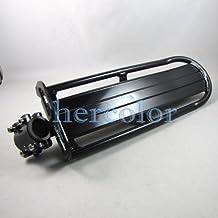 Blackaluminum Alloy Bike Bicycle Seat Post Rear Saddle Rack Bags Panniers Fender