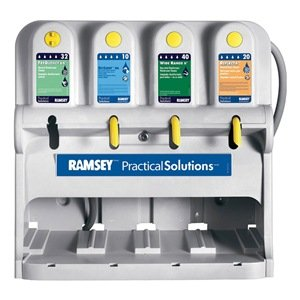 Ramsey Practical Sanitation Soap 4 Button E-Gap Chemical Dispensing Unit 6312900 (Cabinet For Sheet Music)