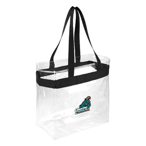 Coastal Carolina Game Day Clear Stadium Tote 'Official Logo' by CollegeFanGear
