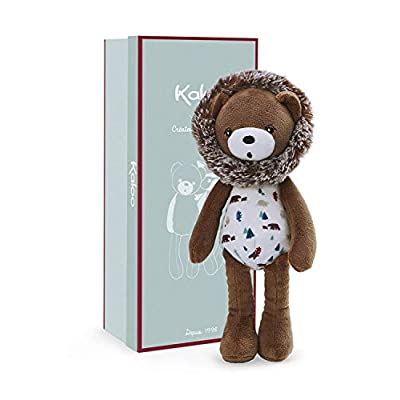 Kaloo Gaston Teddy Bear Plush Soft Toy – Small Stuffed Animal Lovey - Part of The Filoo Collection – Adorable Soothie Helps Calm and Comfort Toddlers - Comes in Pretty Reusable Box – Ages Newborn +: Toys & Games