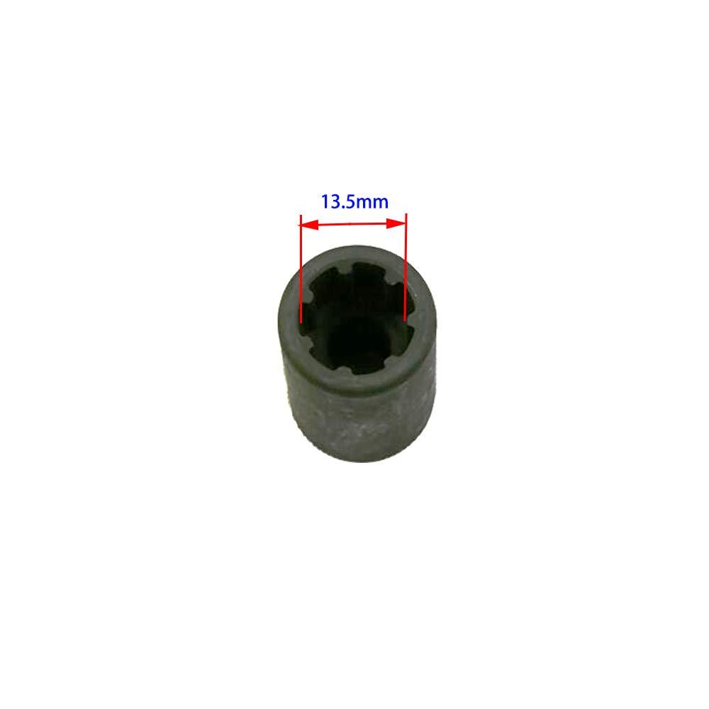 38mm Long for Audi 7 Teeth Socket UTOOL 13.5MM Brake Caliper Socket 7 Points 3//8 Drive