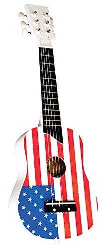 New Classic Toys - 0308 - Guitare De Luxe - Drapeau Usa