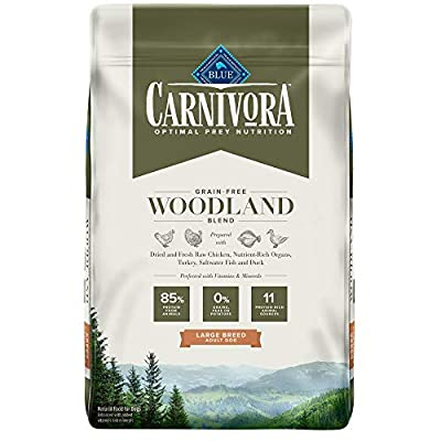 Blue Buffalo Blue Carnivora Woodland Blend Optimal Prey Nutrition Grain Free Adult Large Breed Dry Dog Food