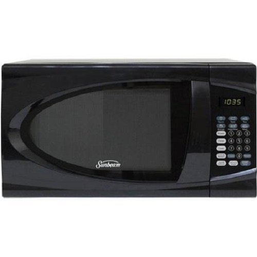 Sunbeam 0.9 Cu. Ft. Microwave Oven, Black by Sunbeam