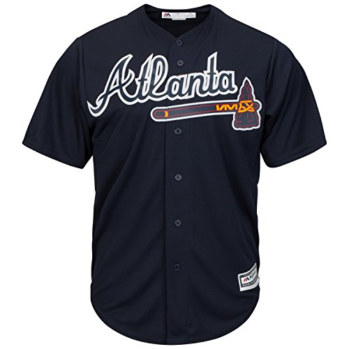 Majestic Authentic Cool Base Jersey - Atlanta Braves - M