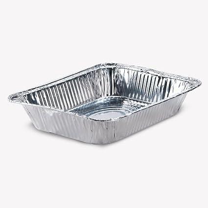Premier Aluminio Bandeja para servir Bandeja 100 unidades (, bandejas de ensalada, catering Essentials