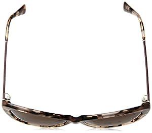 Cole Haan Women's Ch7005s Square Sunglasses, Blush Tortoise, 58 mm