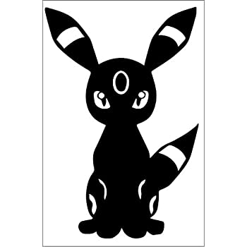 Amazon Com Umbreon 2 8x5 Inch High Quality Out Door
