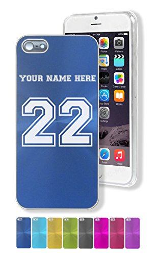 Case for iPhone 5/5s - Sports Jersey - Personalized Engraving Included ()