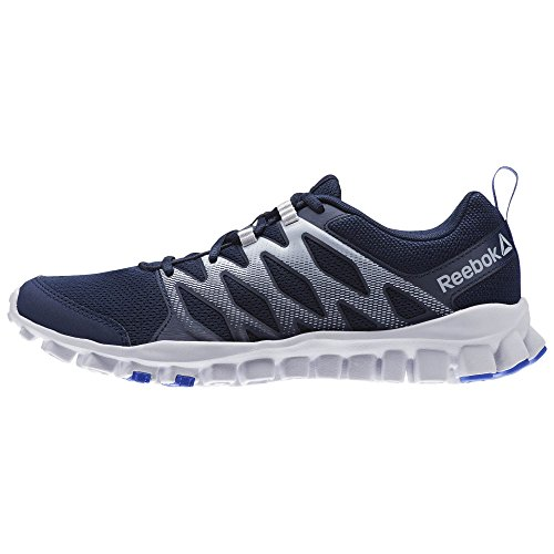 Reebok Men's Realflex Train 4.0 Running Shoe Collegiate Navy/Cloud Gre outlet Inexpensive buy cheap cost discount shop for pldyozXv