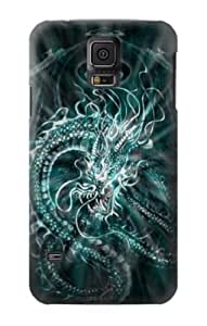 S1006 Digital Chinese Dragon Case Cover For Samsung Galaxy S5
