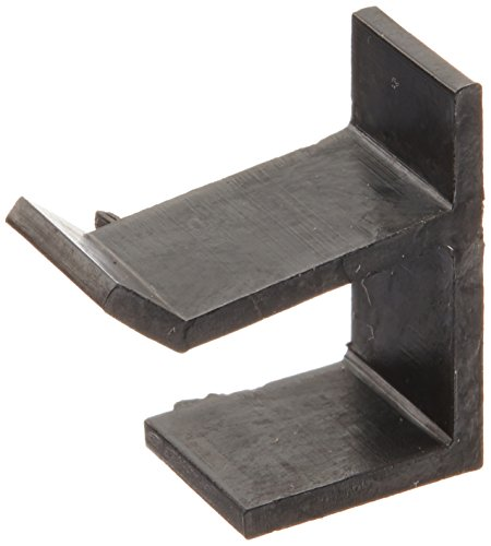 (Prime-Line Products PL 7765 Top and Bottom Screen Frame Retainer Clip, Black Vinyl, 4-Pack)