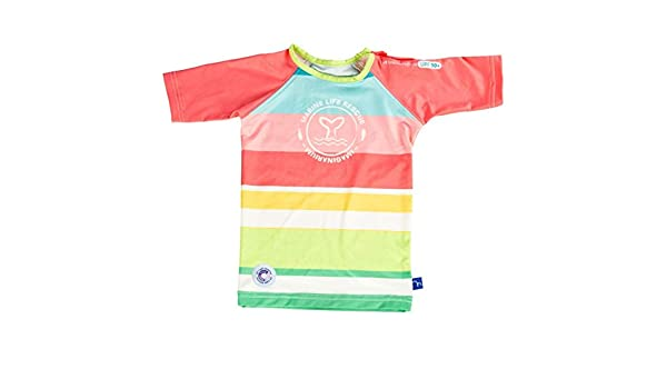 Imaginarium AQUARIO Stripes T-Shirt Camiseta con protecci/ón Solar 50