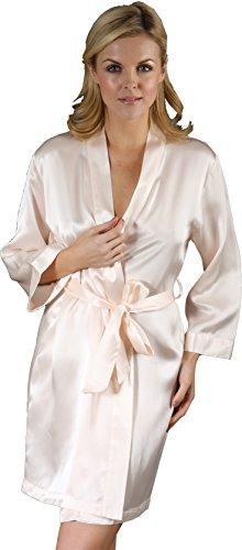 Robe Cocoon Crème Femme De Chambre Silk gS7nTqa7