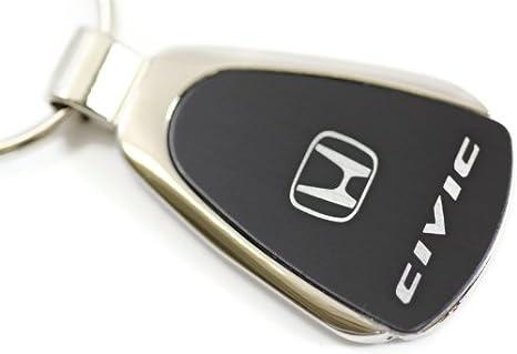 dantegts Honda Civic lágrima llavero Authentic Logo Llavero Llavero Lanyard, azul
