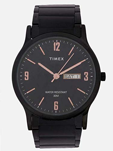 Timex Analog Black Dial Men's Watch-TW000R438