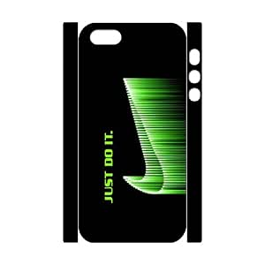 Apple iPhone 5 5s hard 3D Case cool Just do it Brand logo Stylish Nike printed HD pattern unique logo protector bumper DIY Personalized portrait customized cover otter box skin back shell creative gift ultra thin best Quality Limited Edition by iDesign Studio by runtopwell