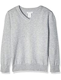 Boys Uniform Cotton V-Neck Sweaters