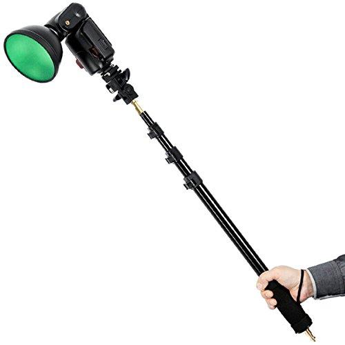 Godox AD-S13 55-160cm Portable Light Boom Pole Stick 1/4 Male Thread for WITSTRO Flash AD180 AD360 by Godox