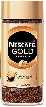 Café Solúvel, Nescafé, Gold Espresso, 100g