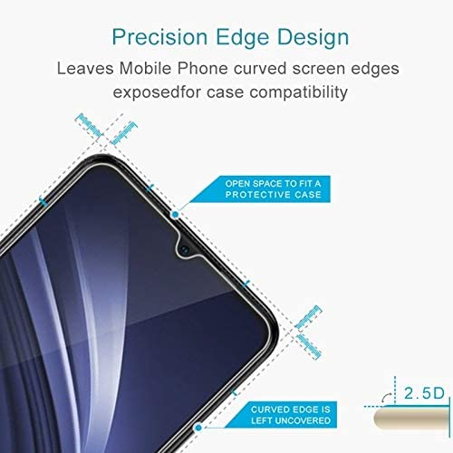DESHENG Clear Screen Protector 50 PCS 0.26mm 9H 2.5D Tempered Glass Film for Oppo Reno 2 Glass Film