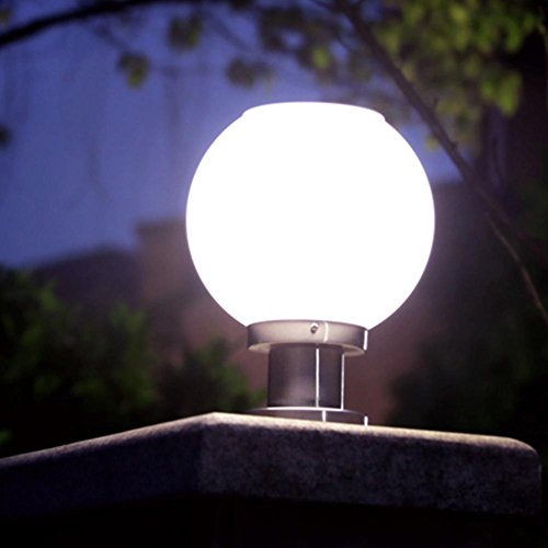 Outdoor Solar Column Lighting