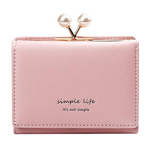Tigivemen 2019 Fashion Short Solid Hasp Clutch Wallets for Female,New Coin Purse Card Holder
