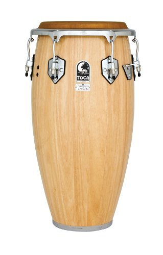 Toca 4612-1/2NW Custom Deluxe Wood Tumba - Natural Wood Finish by Toca