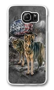Samsung Galaxy S6 Case,Pride Rock Wolf PC Hard Plastic Case for Samsung S6/Samsung Galaxy S6 Transparent Kimberly Kurzendoerfer