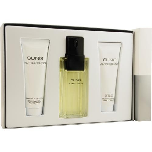 SUNG by Alfred Sung Perfume Gift Set for Women (EDT SPRAY...