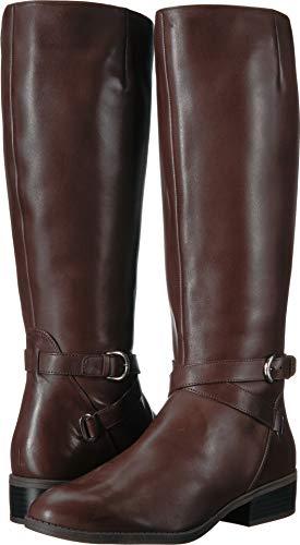 High Lauren Heels (Lauren Ralph Lauren Women's MARIBELLA Fashion Boot, Dark Brown, 7 B US)