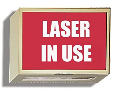 amazon com illuminated darkroom viewing door sign laser