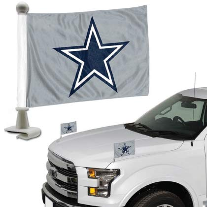 ProMark NFL Dallas Cowboys Flag Set 2Piece Ambassador Styledallas Cowboys Flag Set 2Piece Ambassador Style, Team Color, One Size