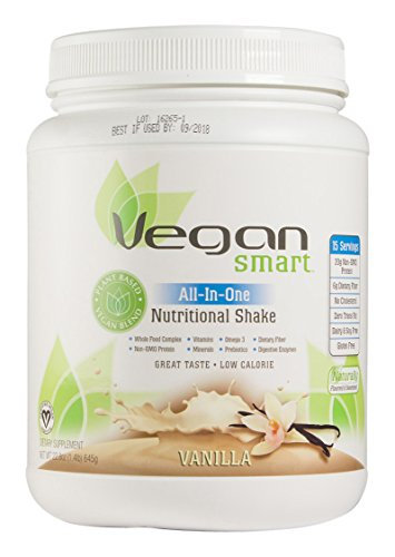 Naturade VeganSmart All-In-One Nutritional Shake – Vanilla 22.75 oz