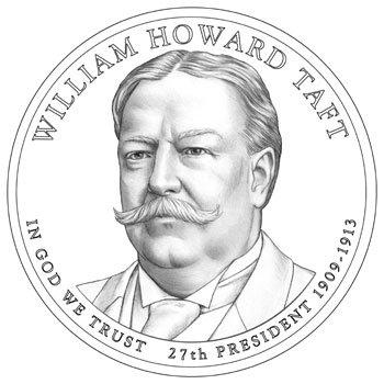 2013 P 25 Coin Bankroll of William Howard Taft Presidential Uncirculated