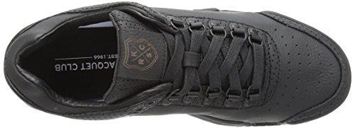 K-SWISS Sneakers cuero auténtico Hombre Black-White