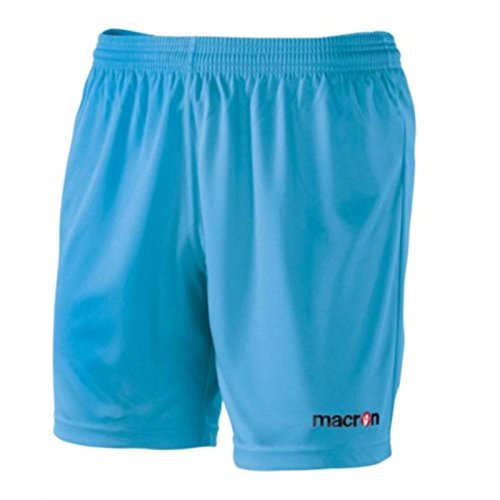 Uomo Macron Calcio Da Corti Calzoncini Calcetto Bermuda Shorts Mesa Celeste Pantaloncini qYA6n5