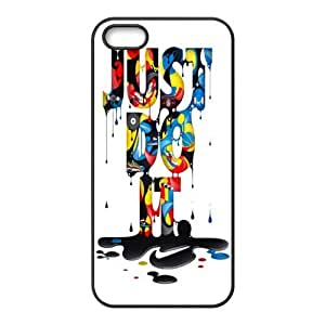 Super NIKE JUST DO IT Classic Design Print Case With Hard Shell Cover for Apple iPhone 5S