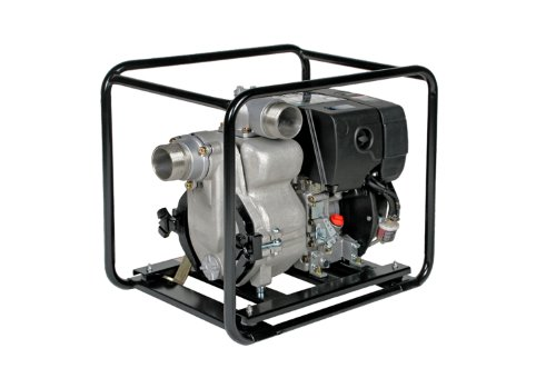Tsurumi Ept2 100Rdb Engine Driven Trash Pump With Low Oil Sensor  9 Hp