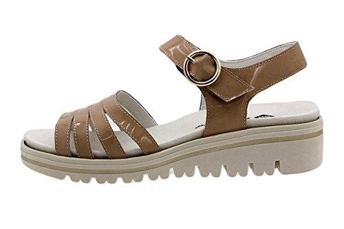 à Chaussure 180786 Sandales PieSanto Charol Terra Femme Semelle Amovible Confort 6n75q5