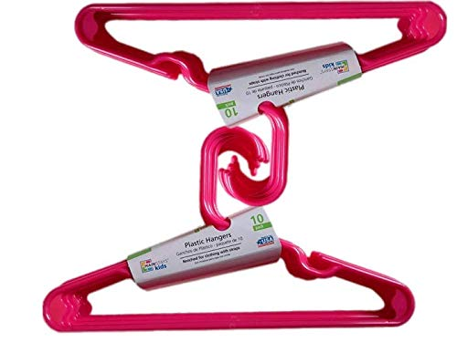 Children's Hangers - Hot Pink - Pack of 20 by Mainstays