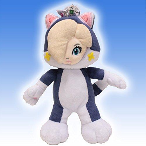 "1 X Super Mario bros galaxy princess cat rosalina plush 7"""